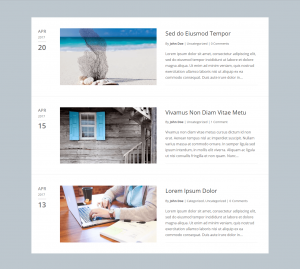 Divi Blog Layouts
