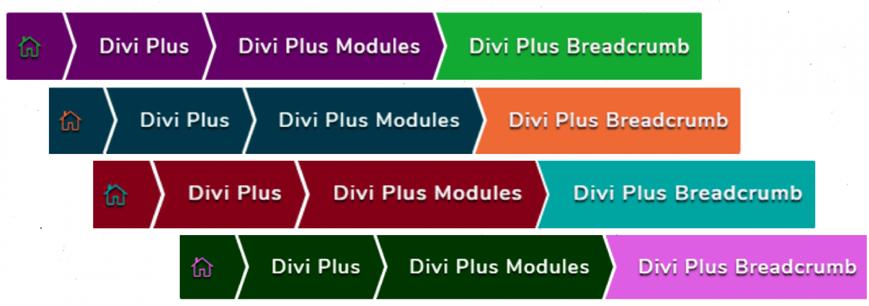 Divi breadcrumbs module
