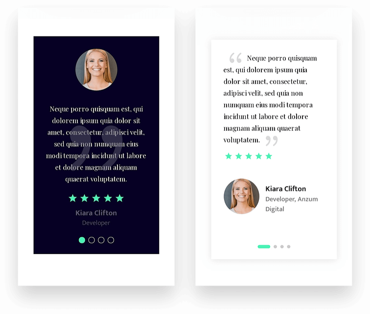 Star rating in divi testimonial module