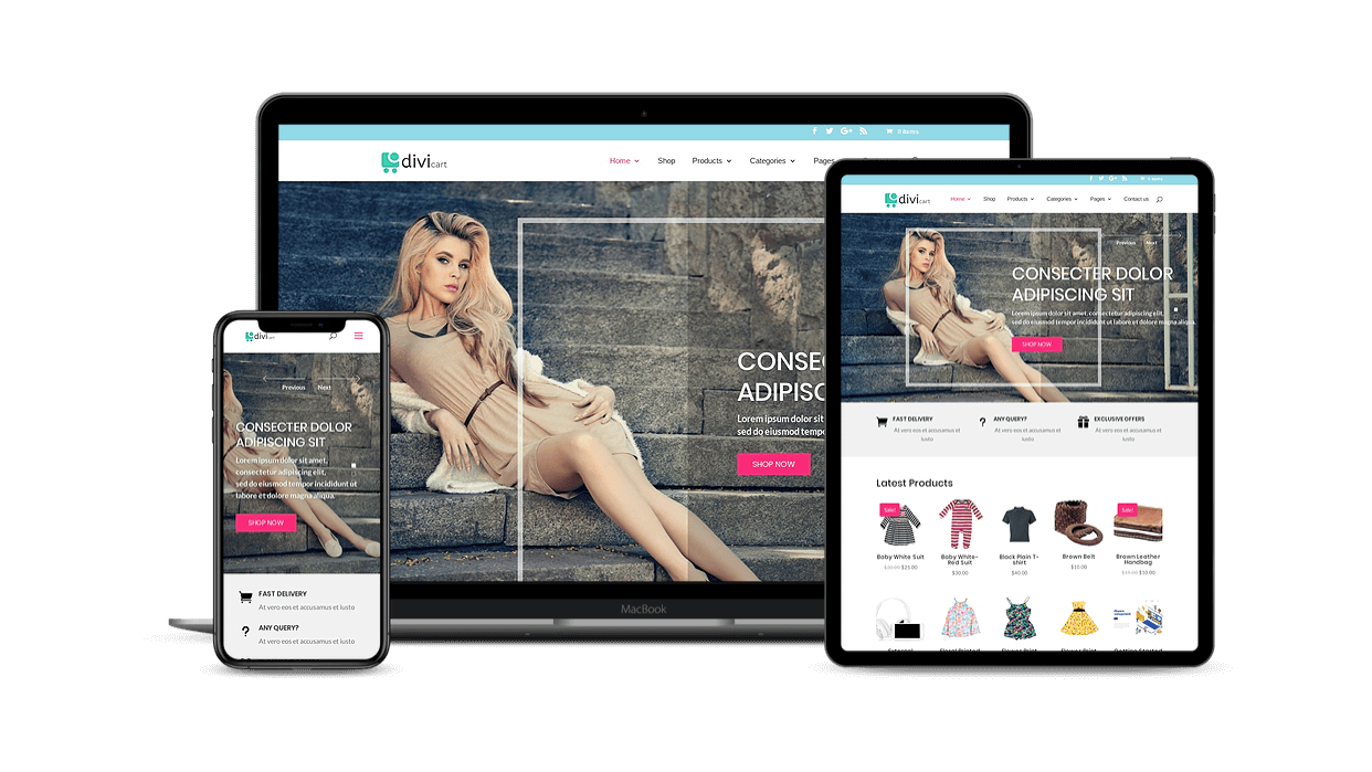 With sliders make your digital store more engaging