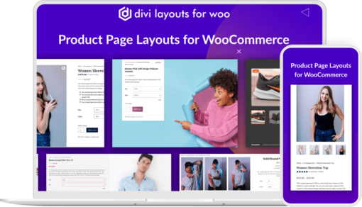 Divi Layouts For WooCommerce