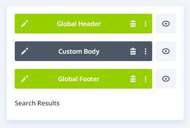 Custom Body for Divi 4.0 Search Result Page