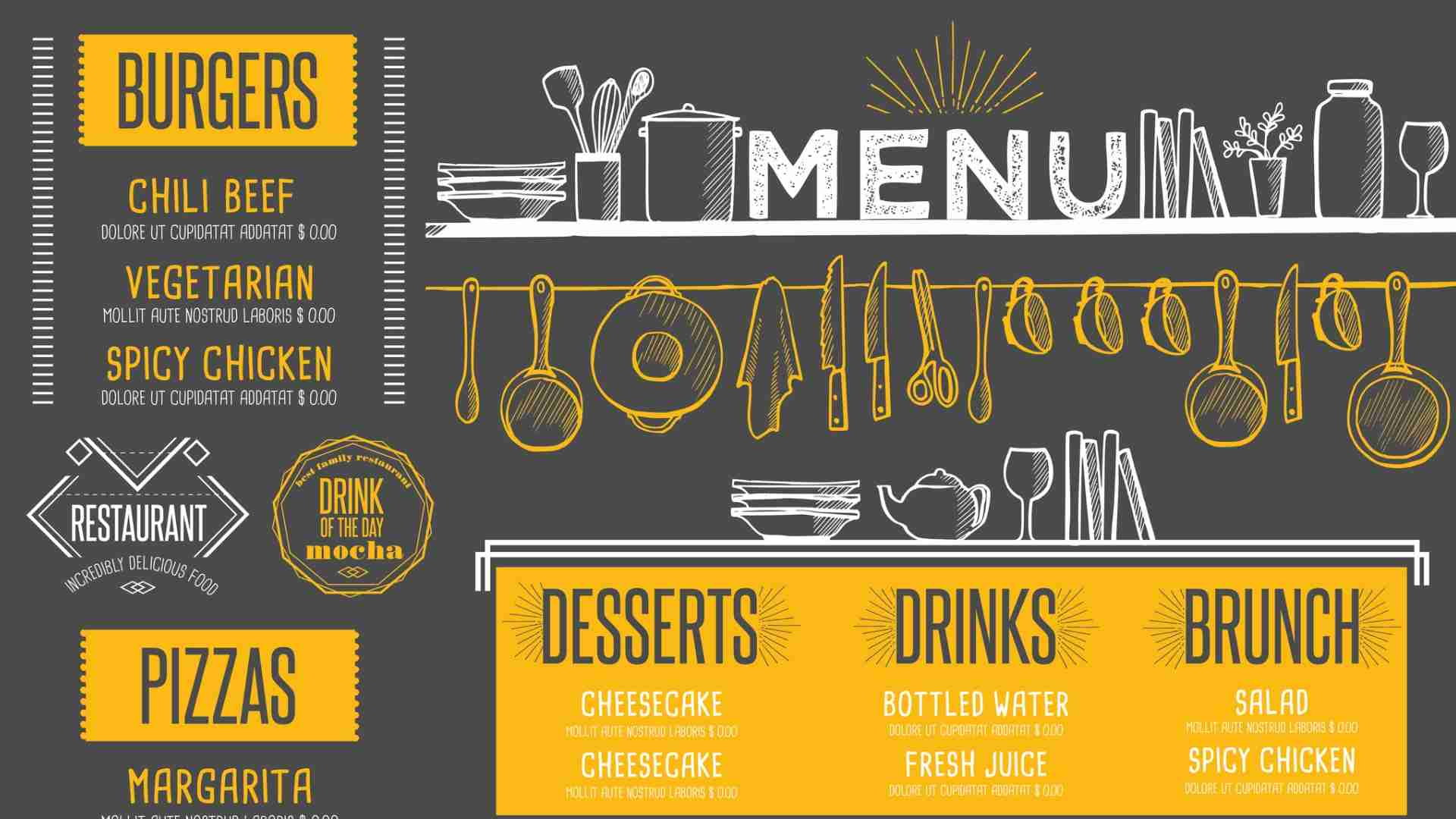 How to use Divi Restro menu plugin