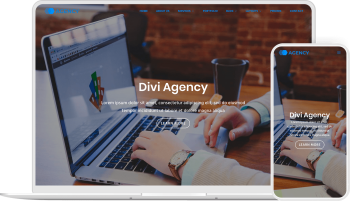 Divi Agency child theme allows you to create agencies and small businesses website with Divi