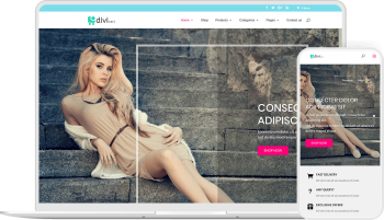Divi Cart is an optimized child theme to create website for eCommerce with Divi