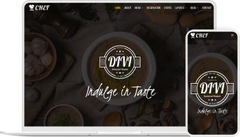 Divi Chef child theme provides you with the pages and options to create a website for restaurant
