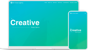 A simple yet modern Divi child theme for agencies and small businesses