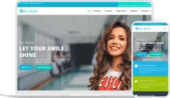 Divi Dental is a ready to use child theme to create dentist website with Divi