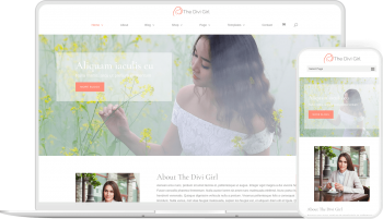 Divi Girl child theme provides you with layouts and options to create website for female professionals in Divi