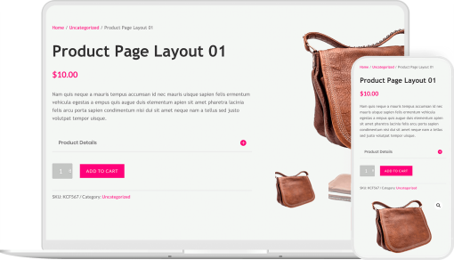 WooCommerce product page layouts for Divi