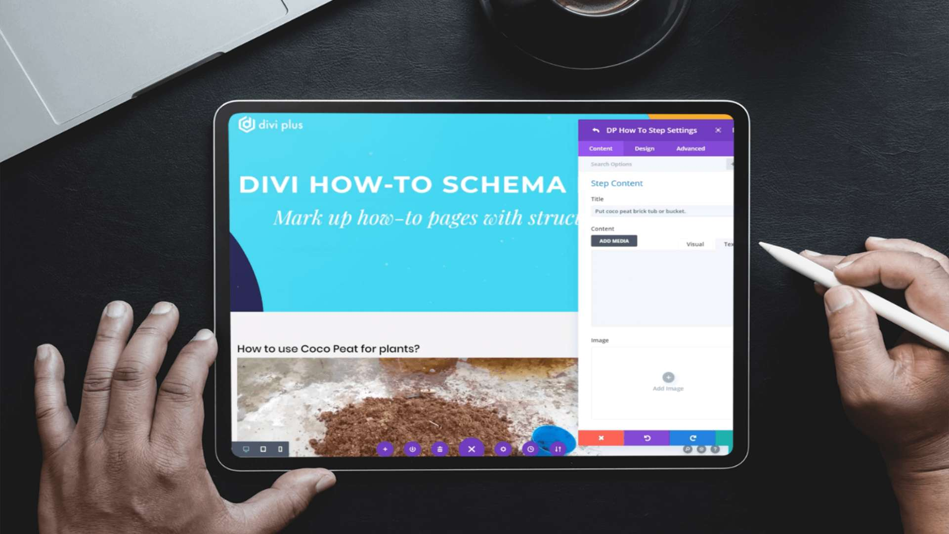 Divi Plus How To Schema module and its features