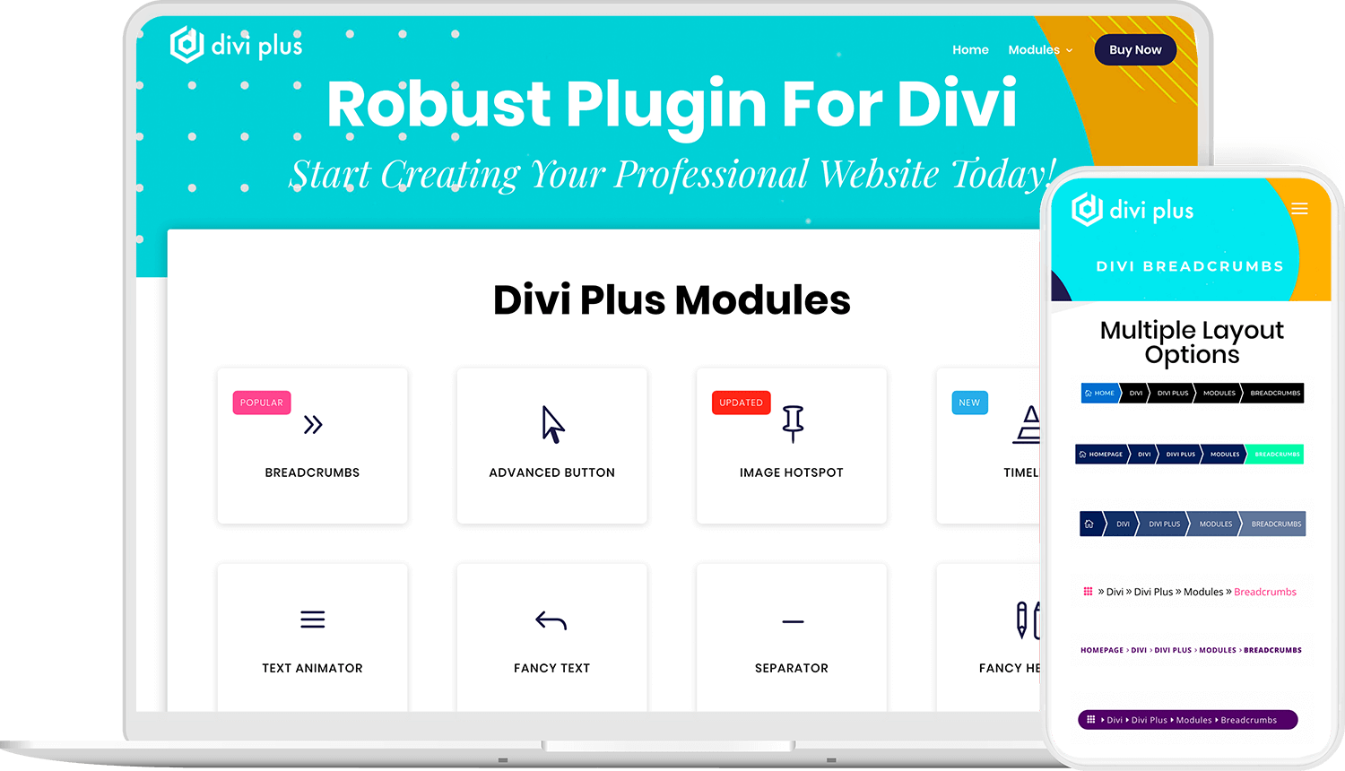Divi Plus - Multipurpose plugin for Divi