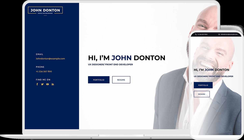 Create portfolio and freelancer website with Divilancer