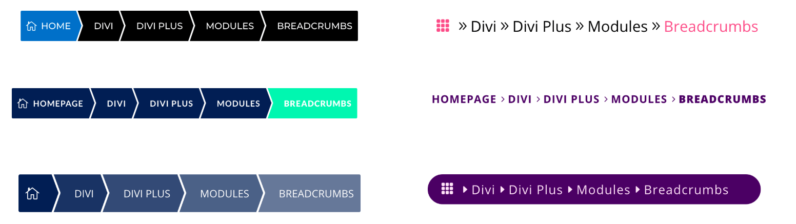 I Love WordPress divi plus breadcrumbs