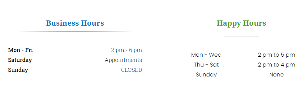 Divi Business Hours