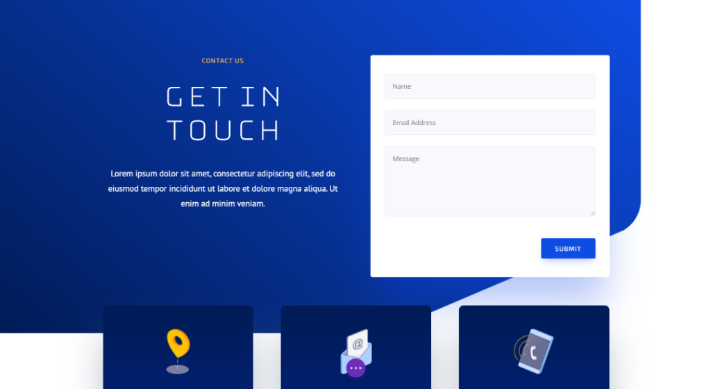 Designing content form with Divi Presets