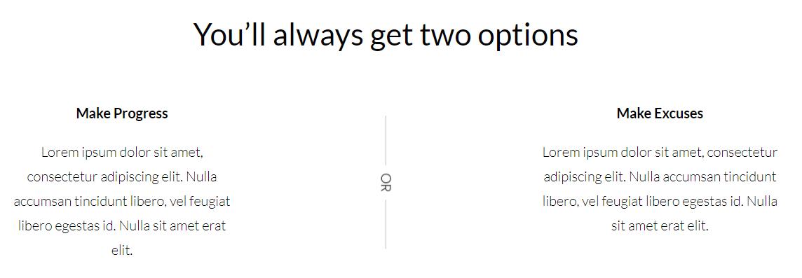 I Love WordPress divi plus icon text separator 2