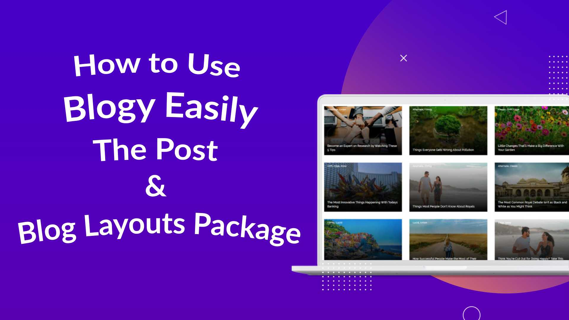 How to use blogy custom Divi layouts package