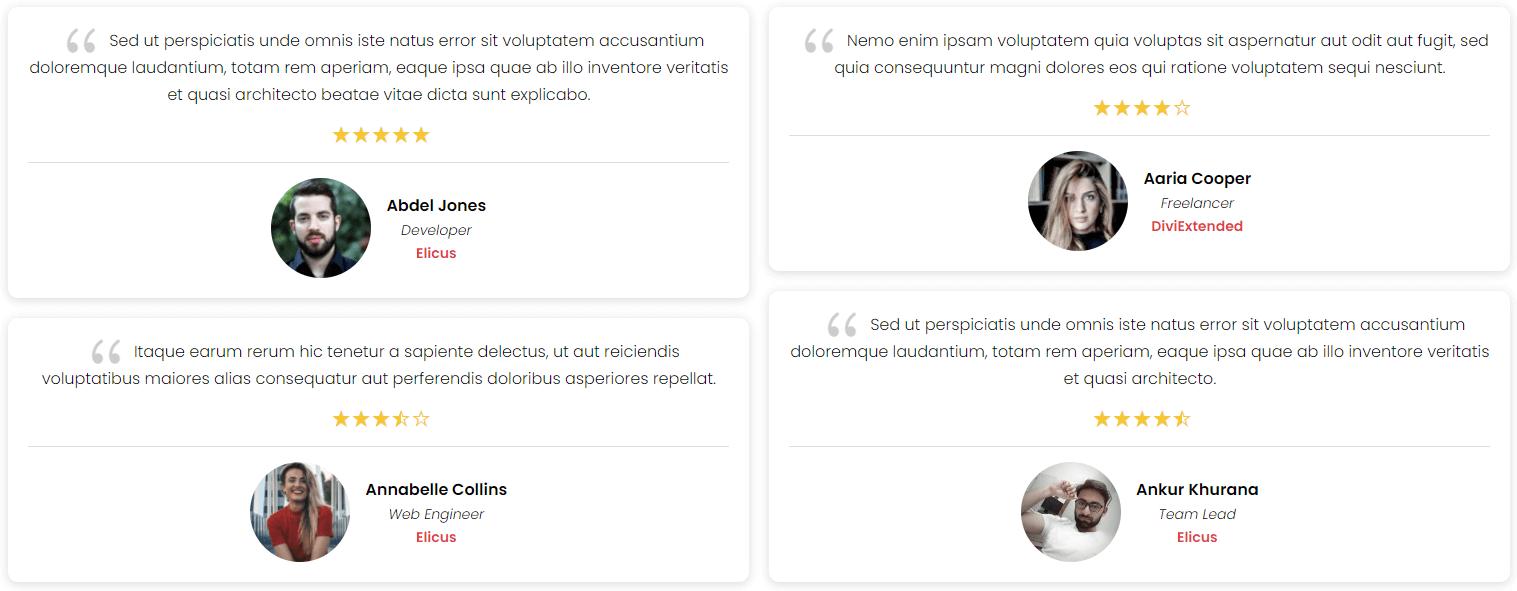 I Love WordPress divi plus testimonial grid img2