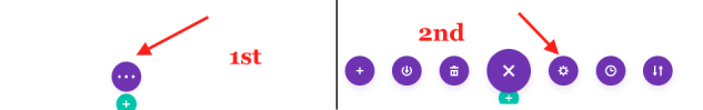 Advanced Settings of a Divi page