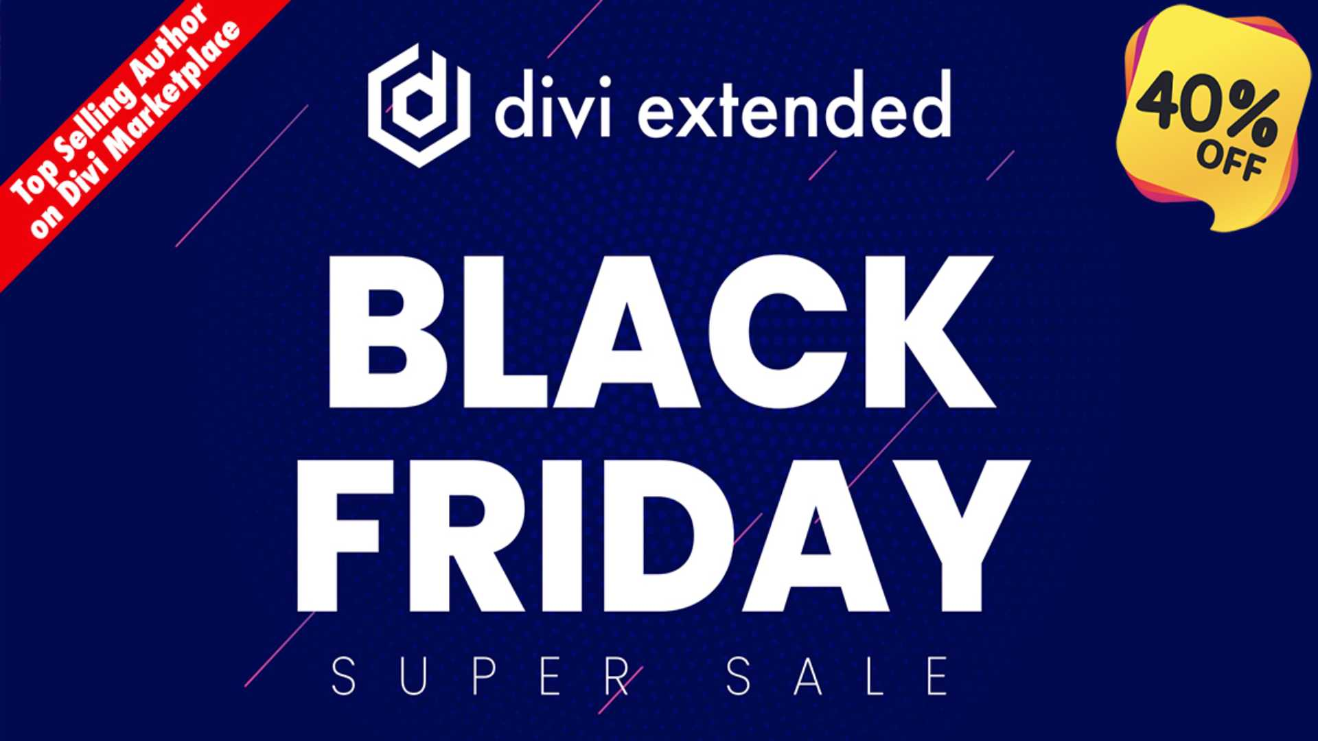 Divi Extended Black Friday 2020 Offers