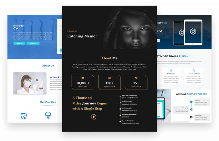 Divi Plus Starter Templates