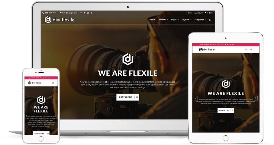 Flexile Responsive Child Theme