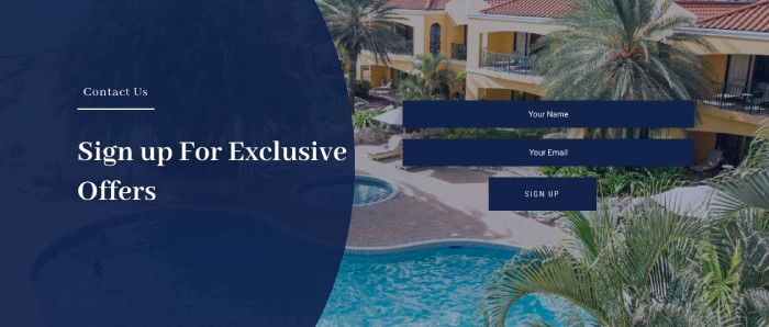 Hotel Divi Plus template