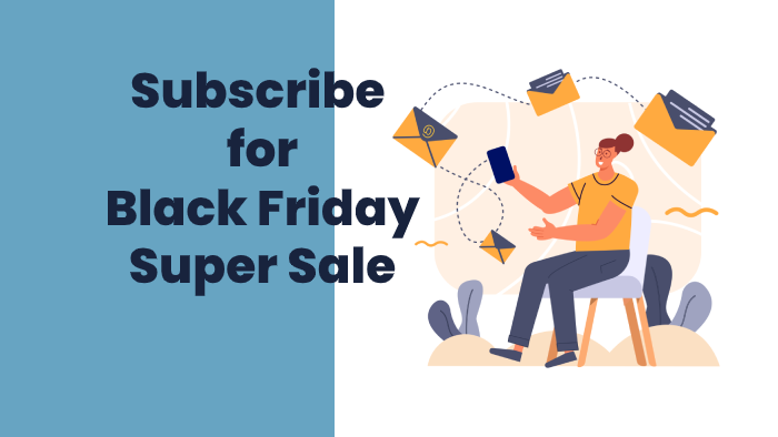 Subscribe for Divi Extended Black Friday Sale