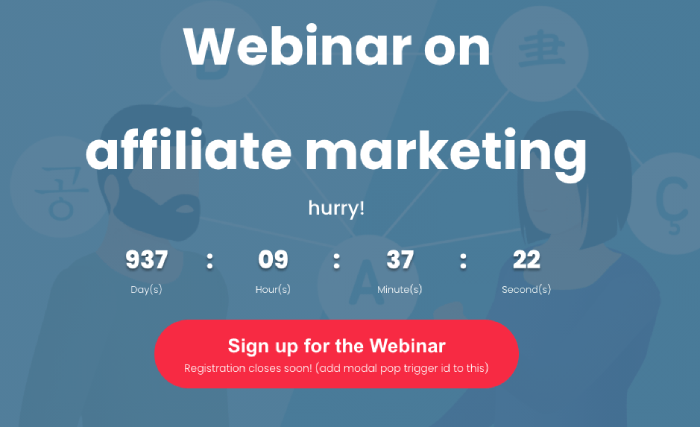 Webinar Divi Plus template