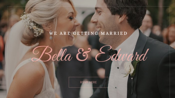 Wedding Divi Plus template