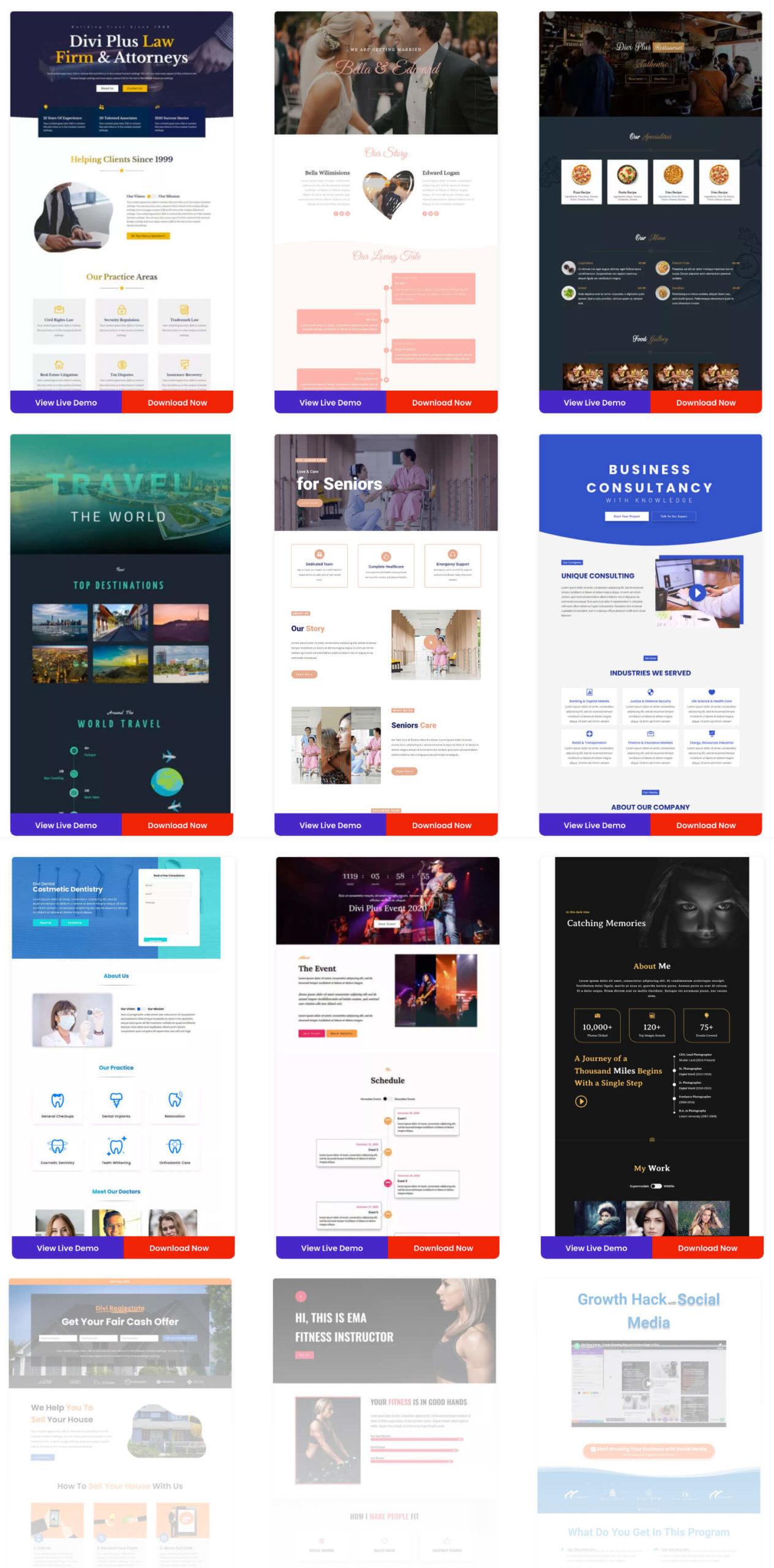 I Love WordPress starter templates divi plus sc 2b scaled