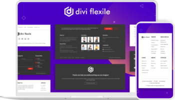 Divi Flexile Footers Image