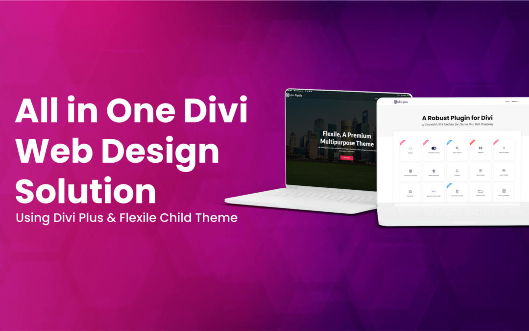 All in One Divi Web Design Solution Using Divi Plus & Flexile Child Theme