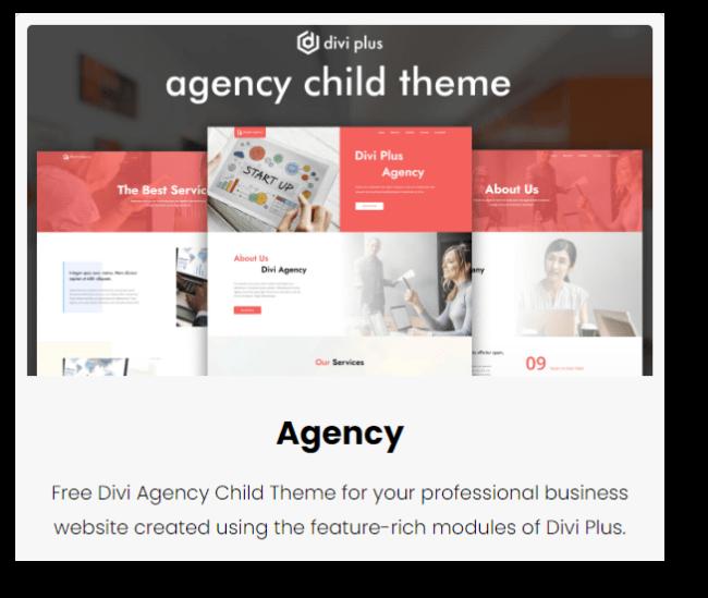 divi agency theme
