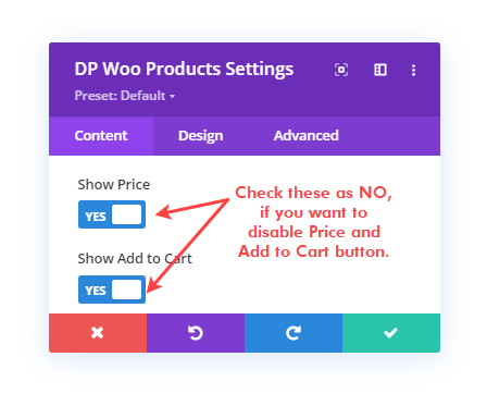 Divi Plus WooCommerce Pricing and Add to Cart button option