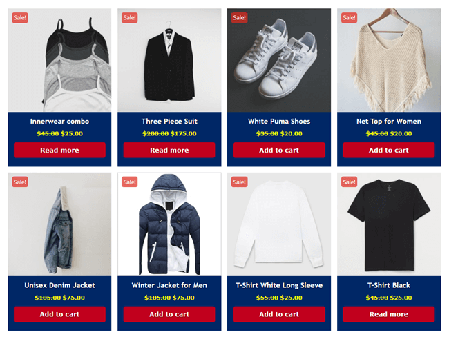 Divi Plus WooCommerce Products with customized add to cart button
