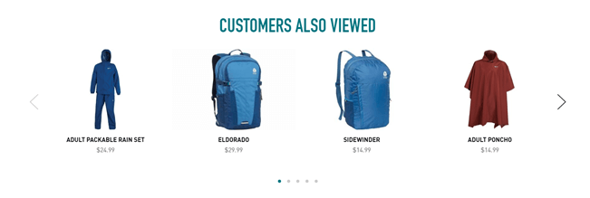 Divi WooCommerce product page with similar items suggestion