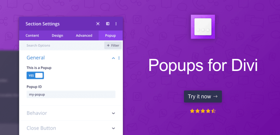 Popups for divi