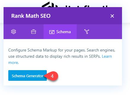 Schema Generator in Rank Math SEO
