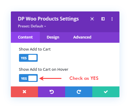 Show Add to Cart button on Hover