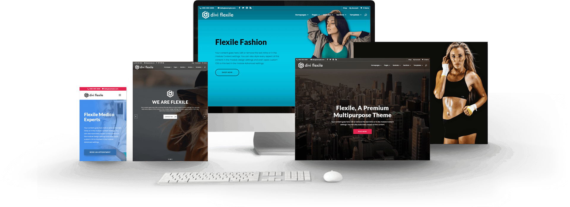Flexile Home Page Banner