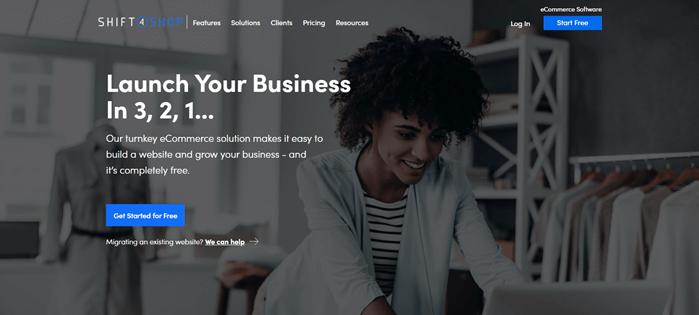 Shitf4shop digital store builder