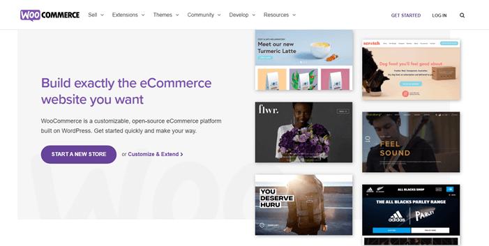 WooCommerce eCommerce website builder