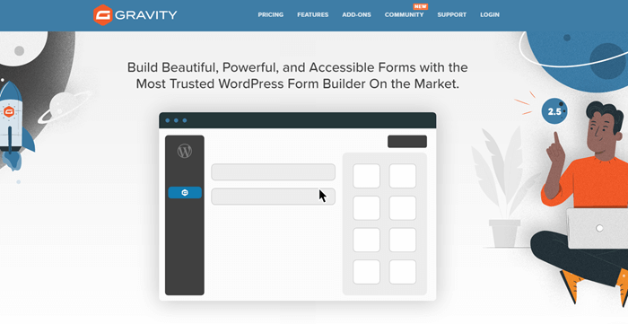 Gravity Forms WordPress form builder