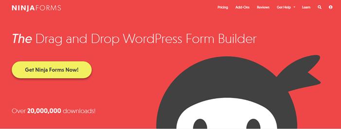 Ninja Forms WordPress forms builder