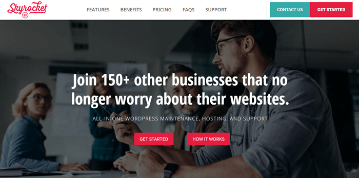 SkyrocketWP WordPress Management Service Provider
