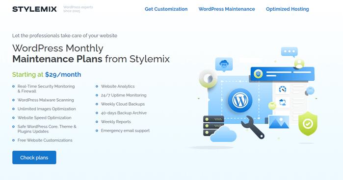Stylemix WordPress Maintenance Provider