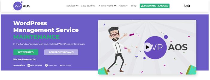 WP AOS WordPress maintenance service provider