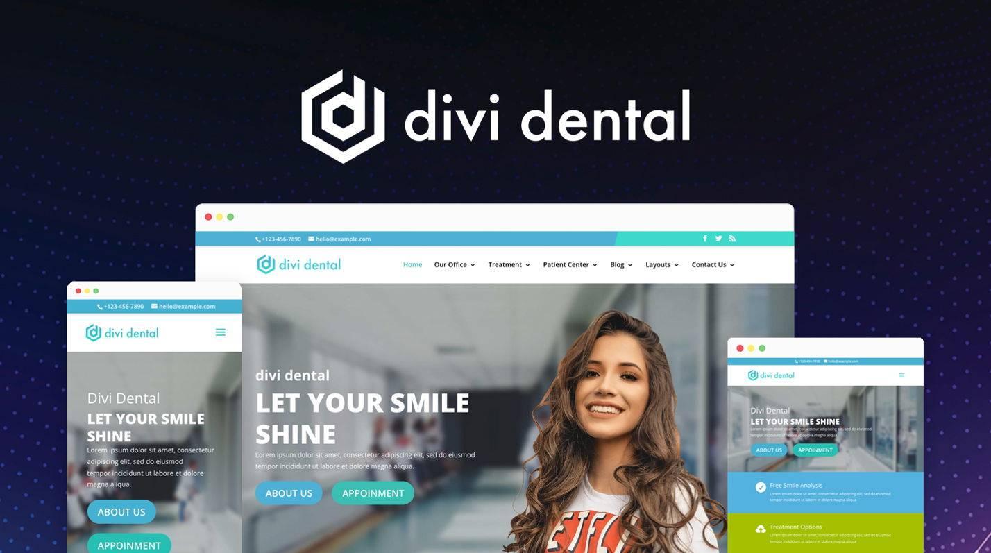 Divi Dental at the Elegant Themes Marketplace